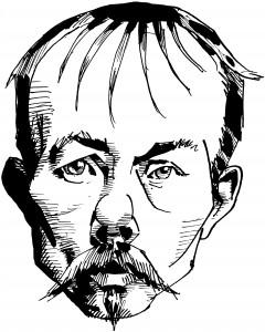 Arne Garborg - Strekteikning