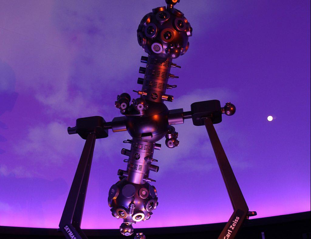 Stjernevisning i Planetariet