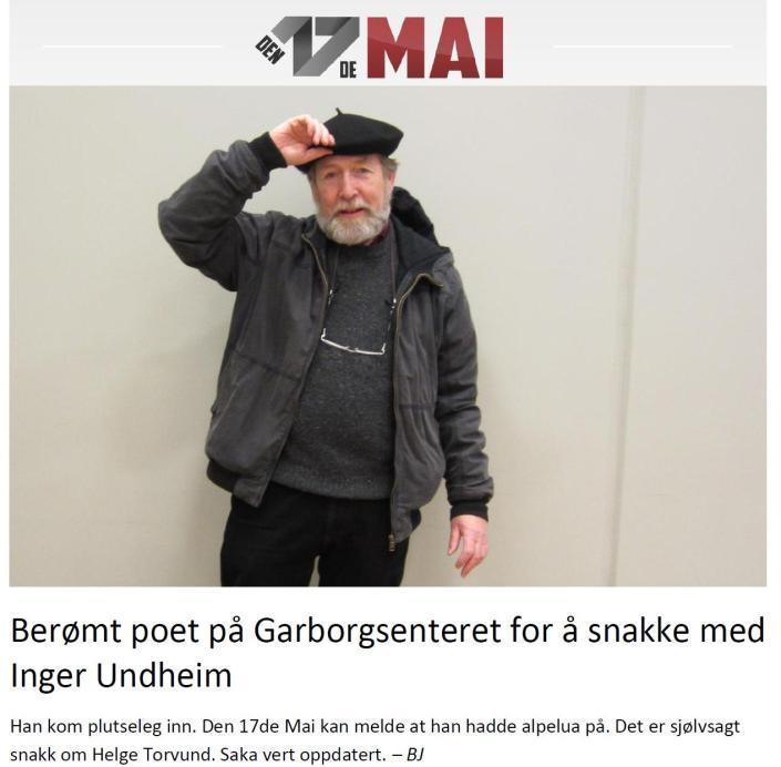 Berømt poet