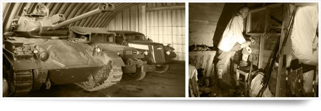 Planlegg besøket på krigshistorisk museum